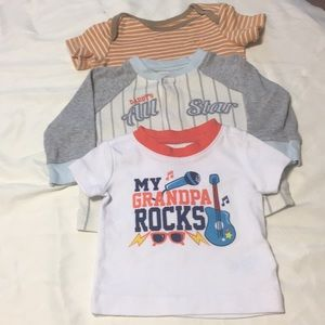 Trio of infant t Shirts 👦